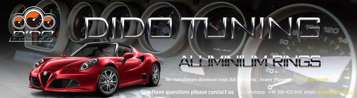 Tacho Ringe Teilig Aluminium Tachoringe Alfa Romeo 164  1987-1998  6
